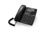 Alcatel T58 CE Analog Corded Phone - Black