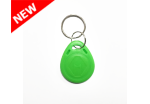 RFID Key Fobs 125KHz, TK4100, EM4100, (10 Pack) - Light Green