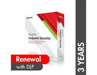 Seqrite Endpoint Security Total Edition with DLP Renewal - 3 Years