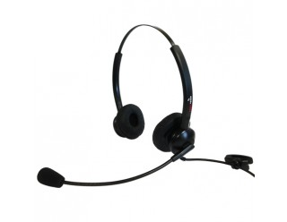 Supervoice SVC-102 Call Center Headset DUAL Without Bottom Cable